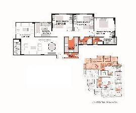 شقة للبيع بالتقسيط مساحة 207متر مربع  فى الحى الخامس بيت الوطن - 95 A