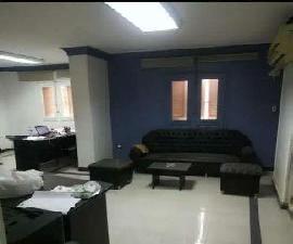 مكتب للايجار بالمعادي الجديدة بالقرب من ميدان الجزائر 120م